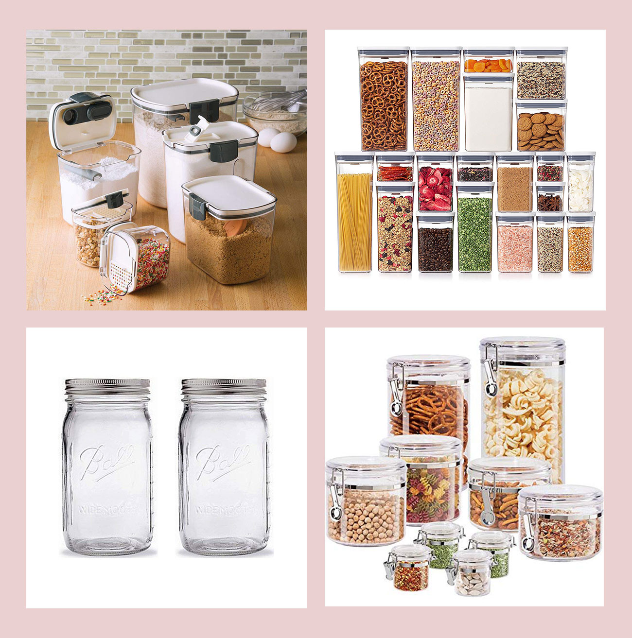 food storage items