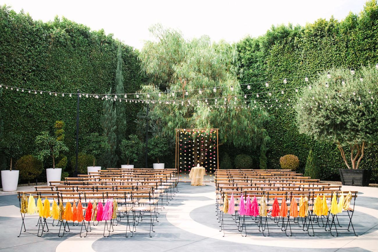 colorful fringe decor