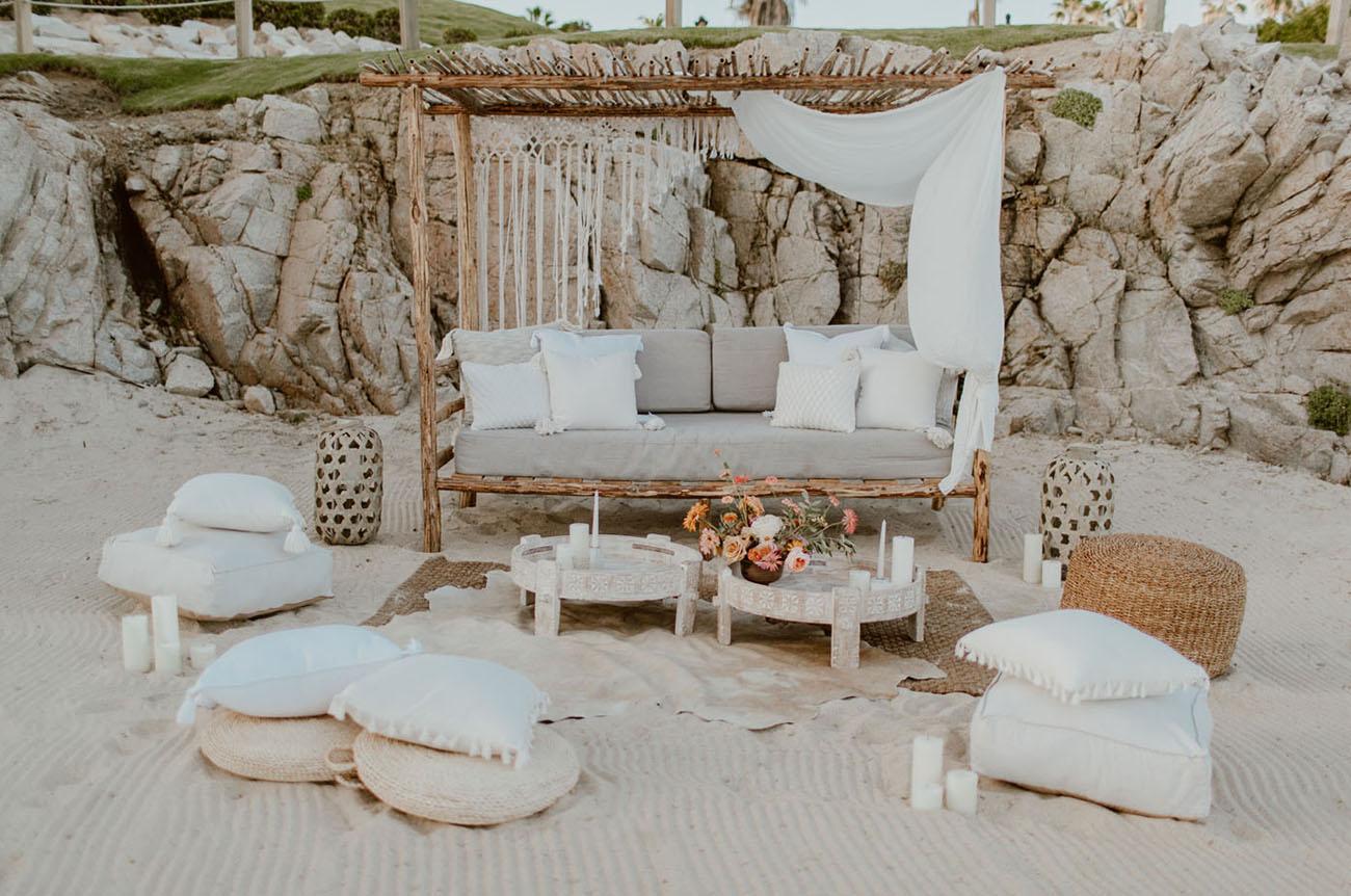beach boho lounge