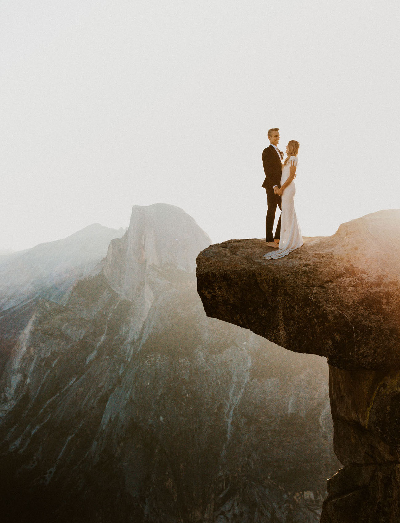 Intimate Glacier Point Wedding