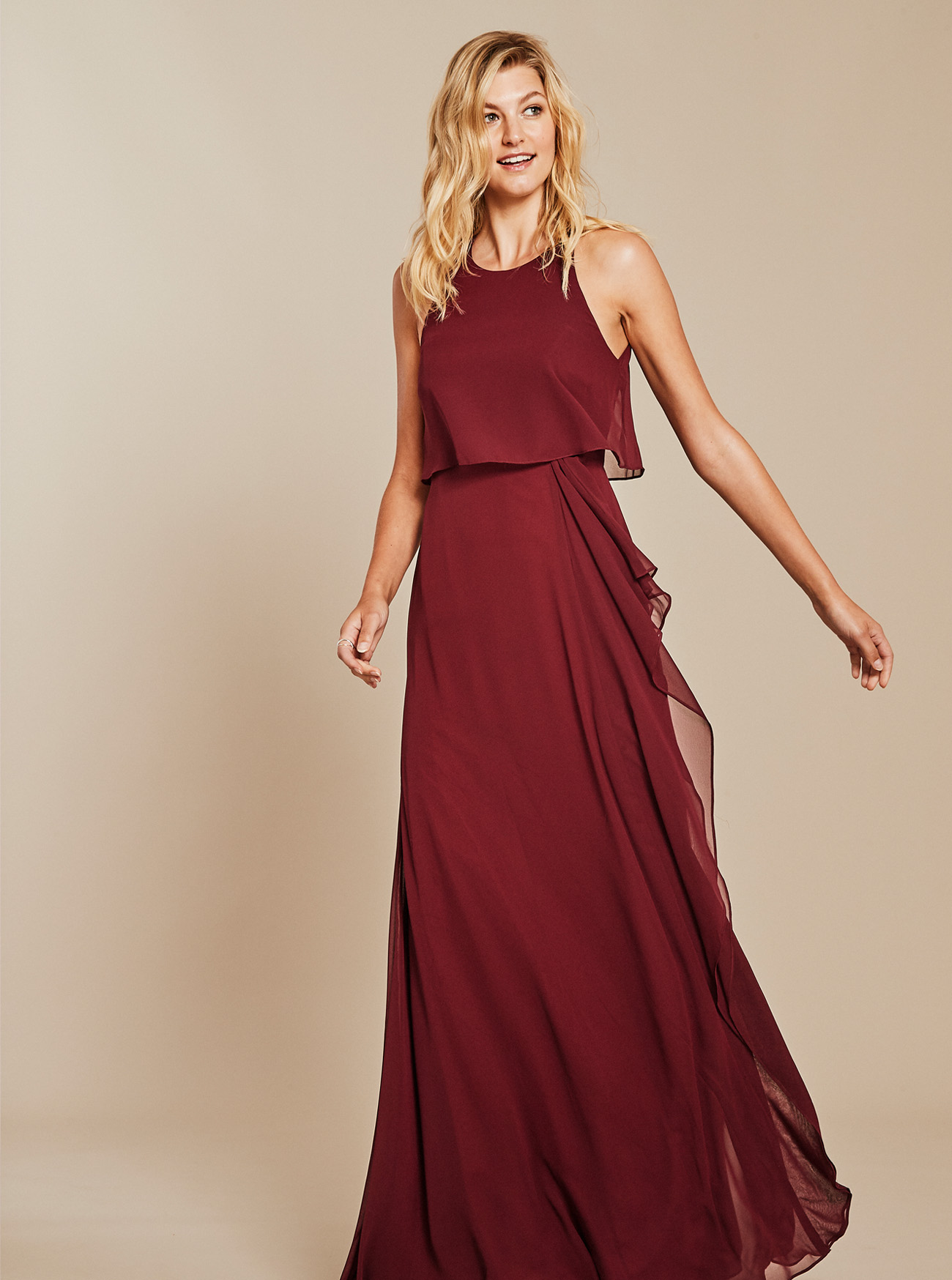 evening collective bridesmaids dresses