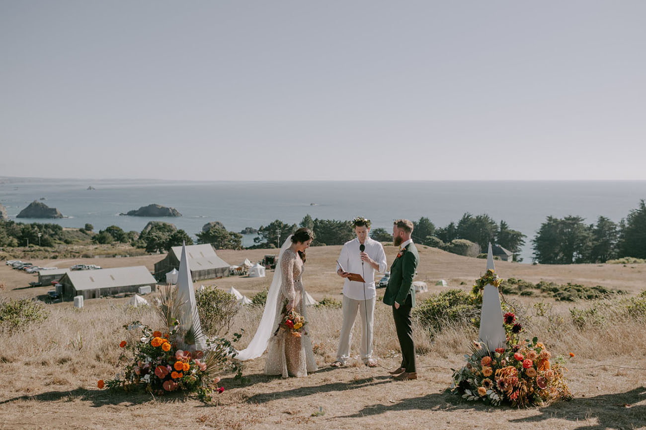 California Festival Inspired Wedding