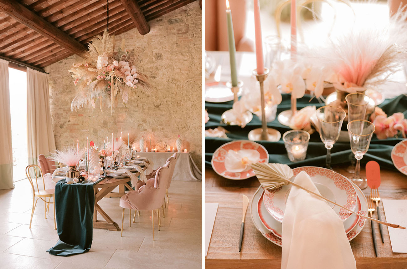 Modern Romance Tuscan Wedding Inspiration