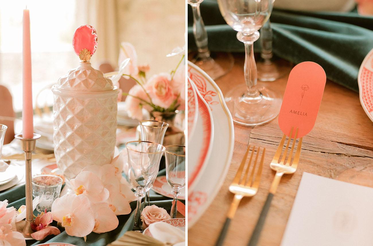 Romantic Modern Italian Wedding Inspiration