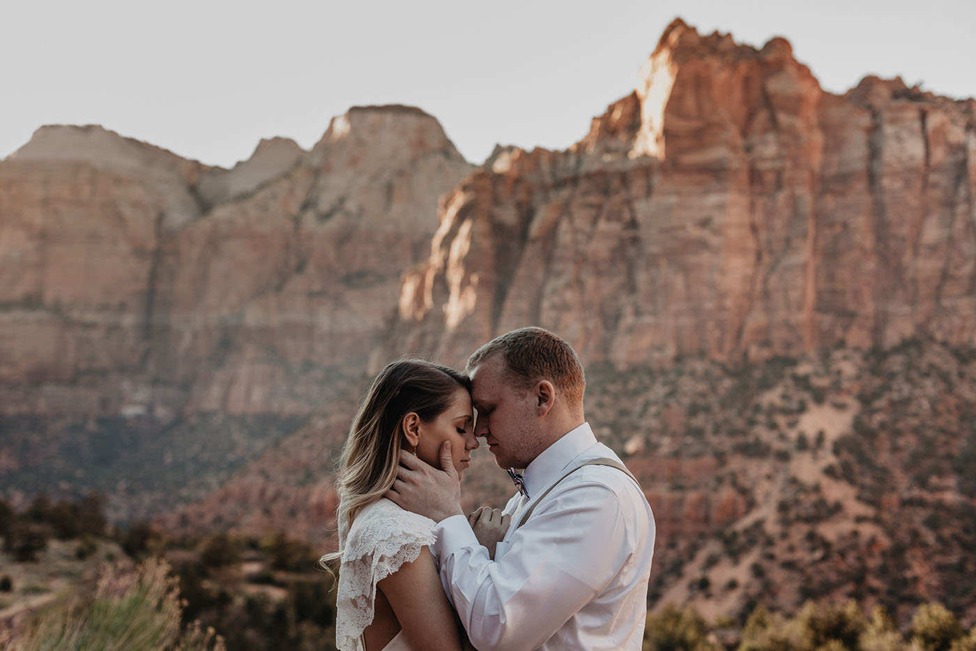 Zion Elopement | Adventure Wedding Photographer