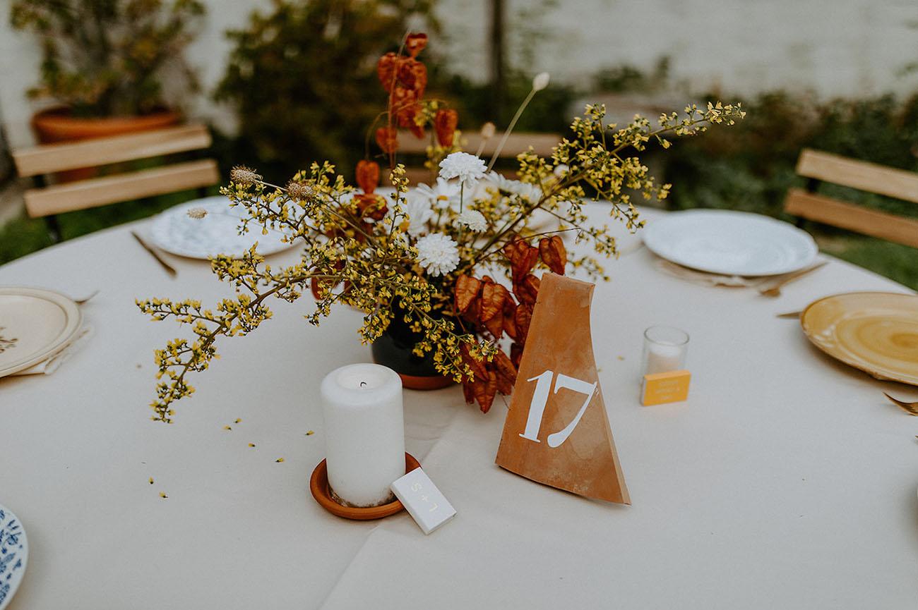 Western meets European Backyard Wedding
