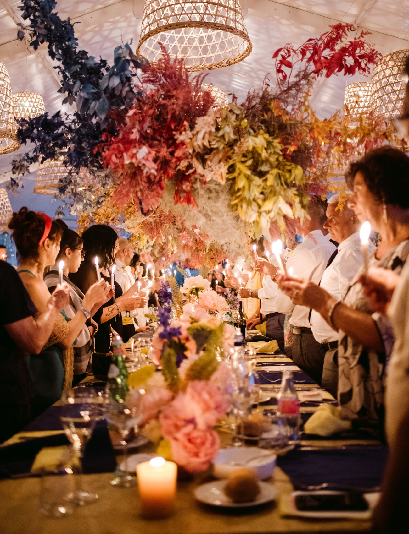 Ibiza Style Wedding in Como Lake, Italy