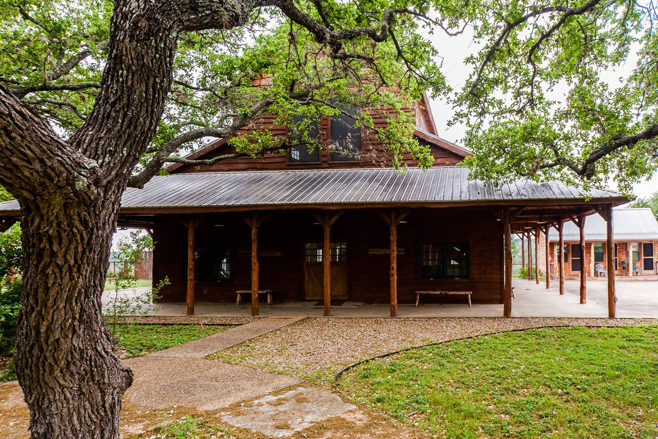 Texas Airbnb home on the river