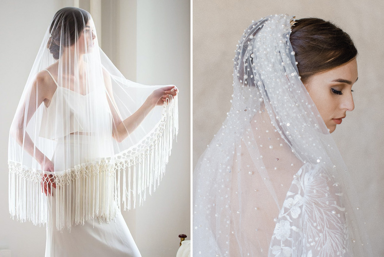 The Best Wedding Veils For Every Bridal Style Green Wedding Shoes