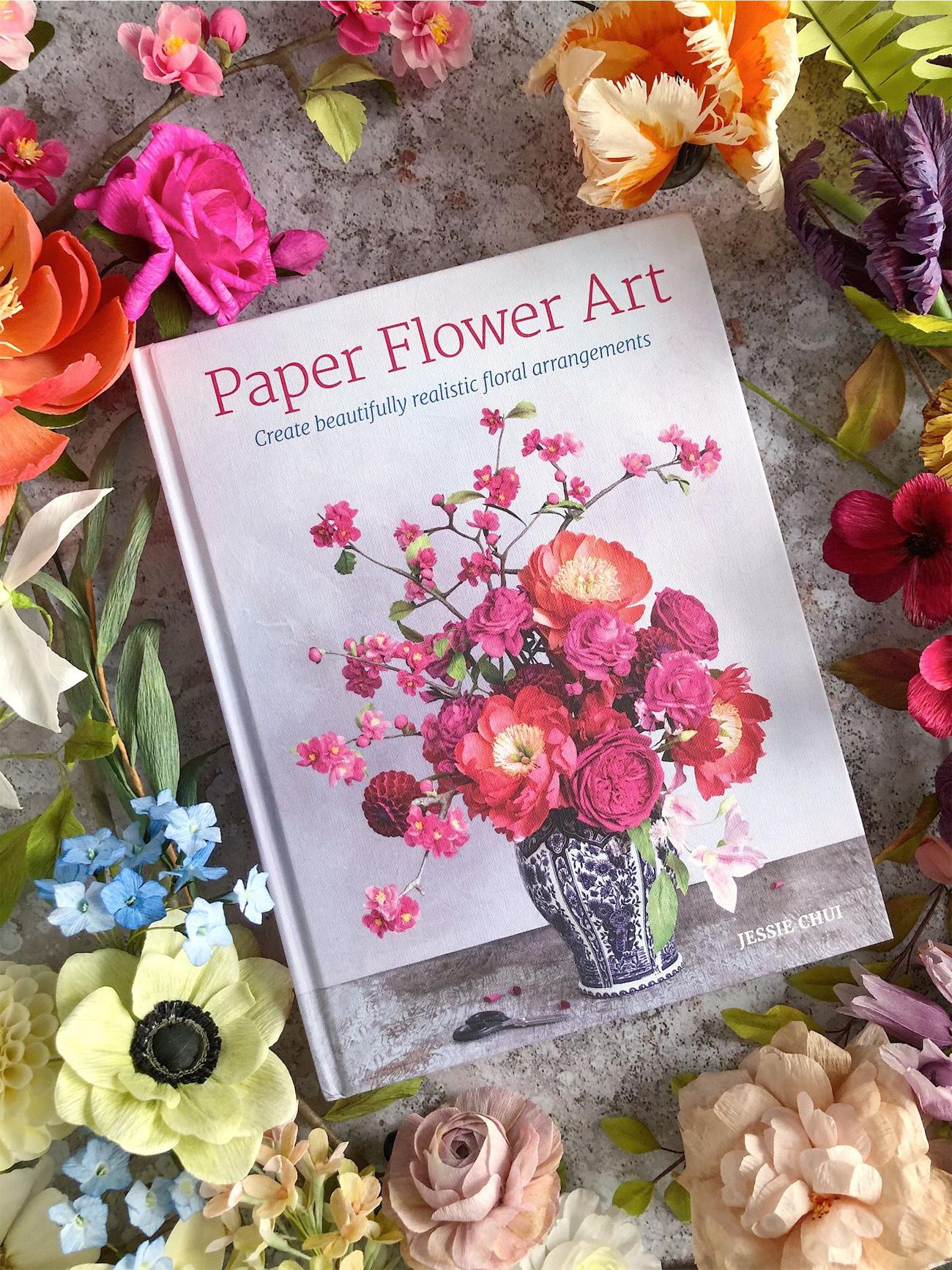 DIY Paper Flowers Book