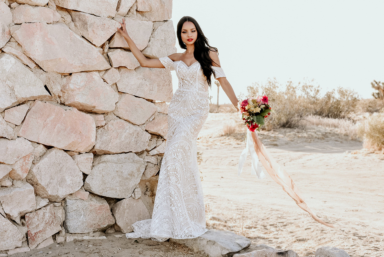 Strapless Sweetheart Off Shoulder Floral Lace Etsy Wedding Dress