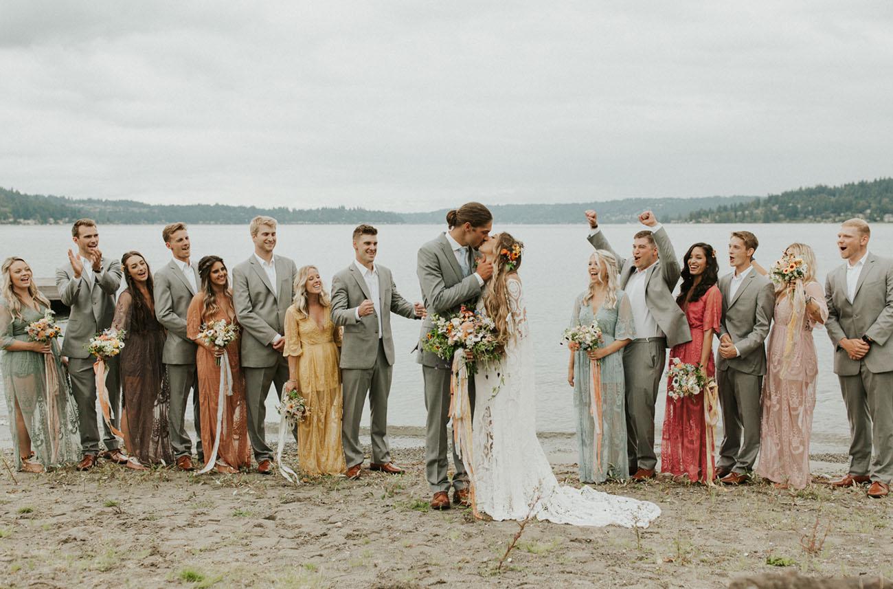 Lakeside Washington Wedding