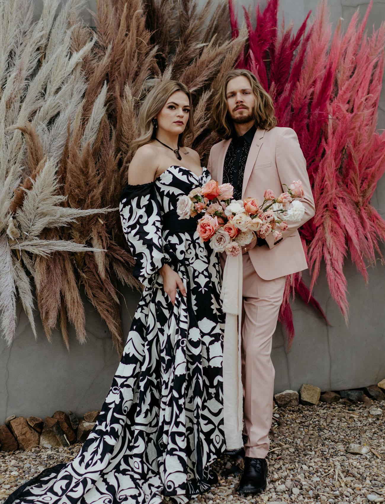 Moderne Boho Hochzeitsinspiration