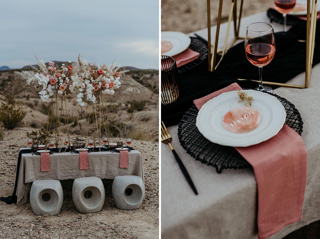 Modern Boho Wedding Inspiration