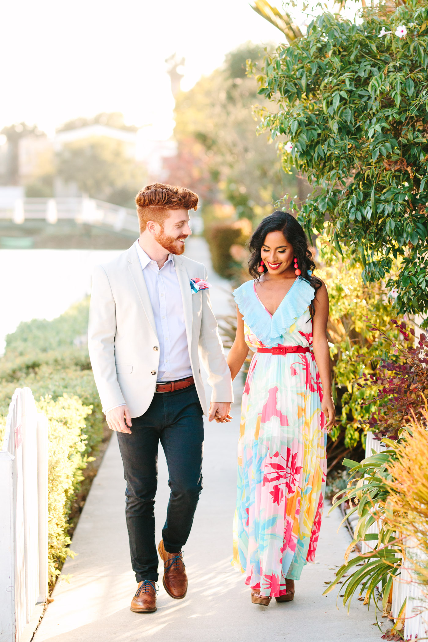 Venice California Canals Engagement