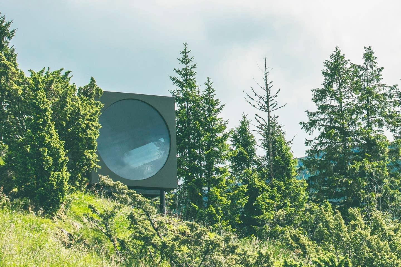 birdbox cabin in Norway