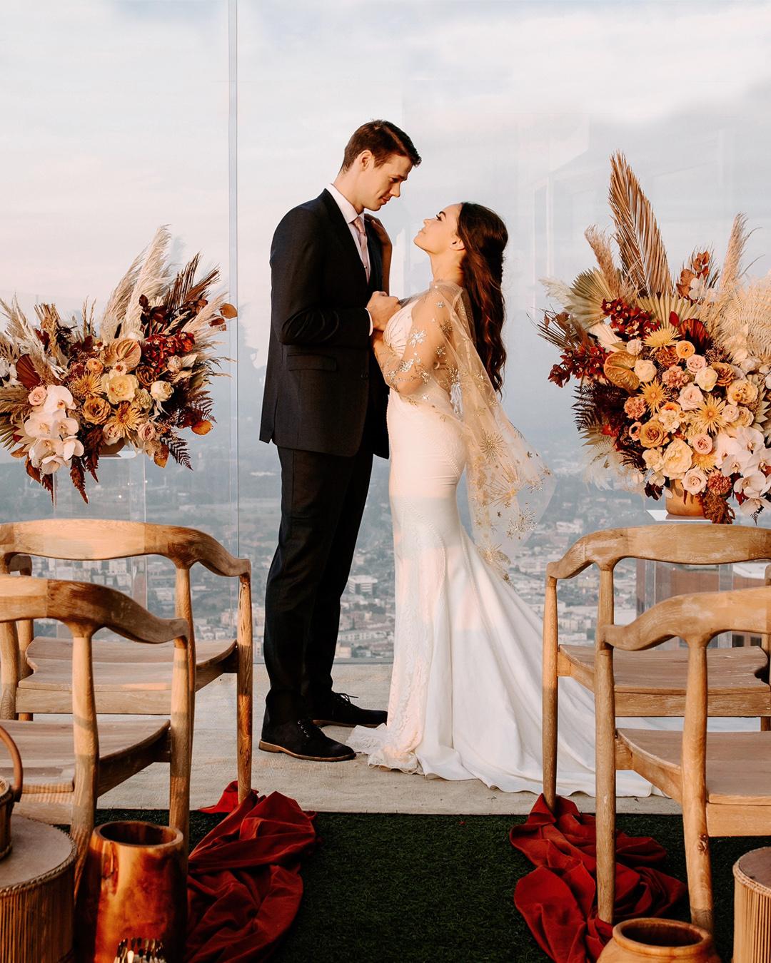 Downtown LA Rooftop Wedding