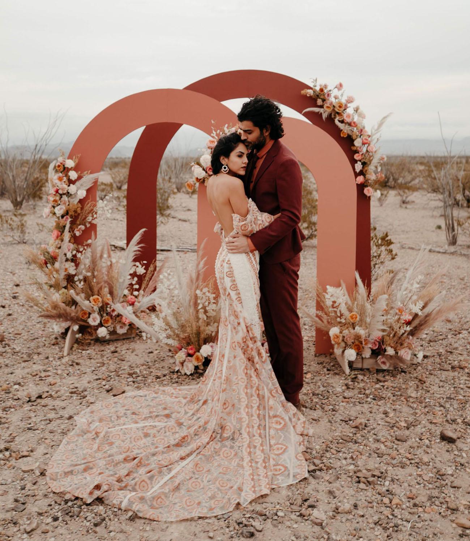 Desert Terracotta Wedding n