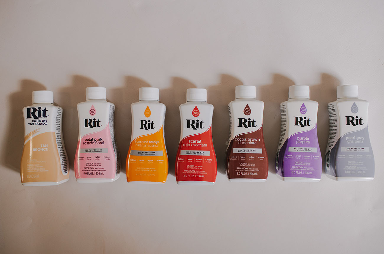 DIY RIT Dye Fabric Backdrop