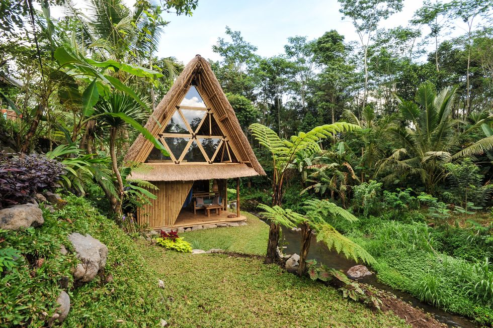 Eco Bamboo Airbnb Home in Bali