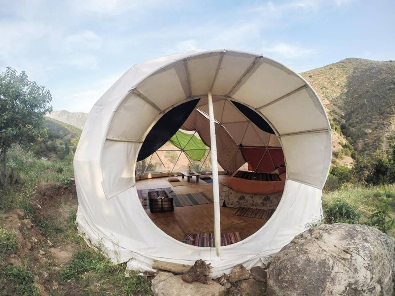 Geodome Airbnb in Chile