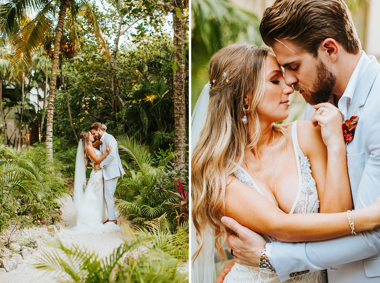 Eclectic Tulum Wedding