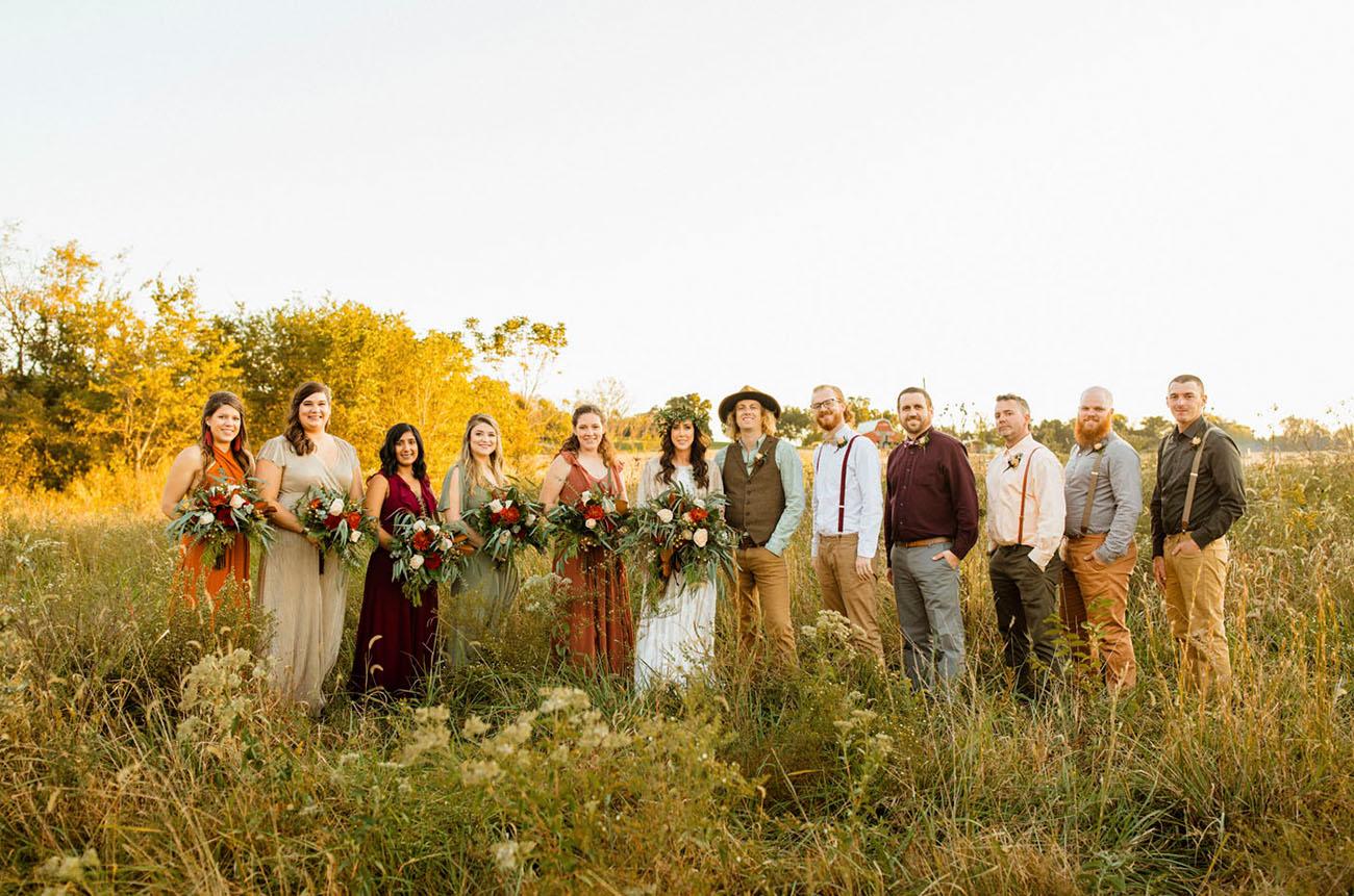 DIY Wedding in the Woods