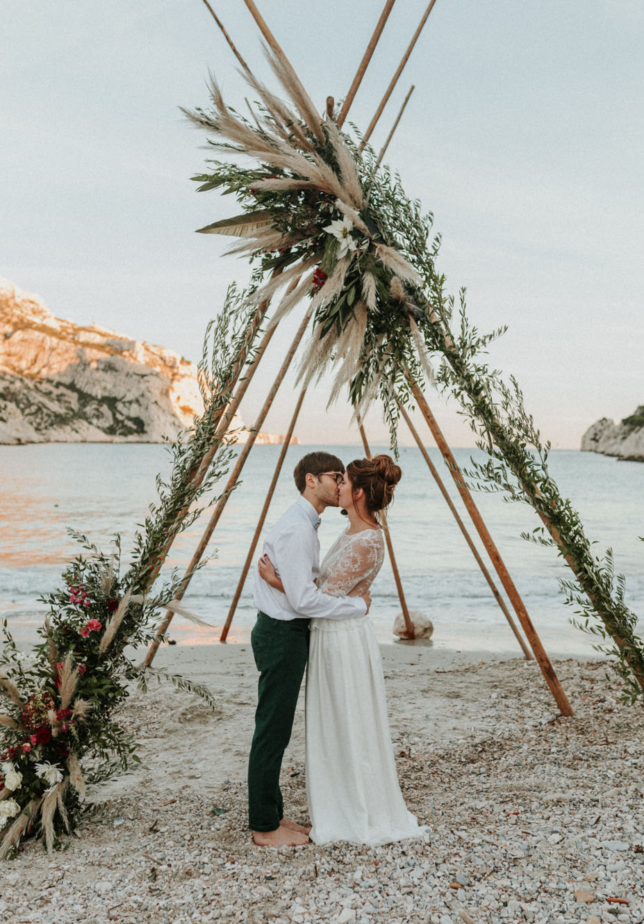 Beach Elopement in France