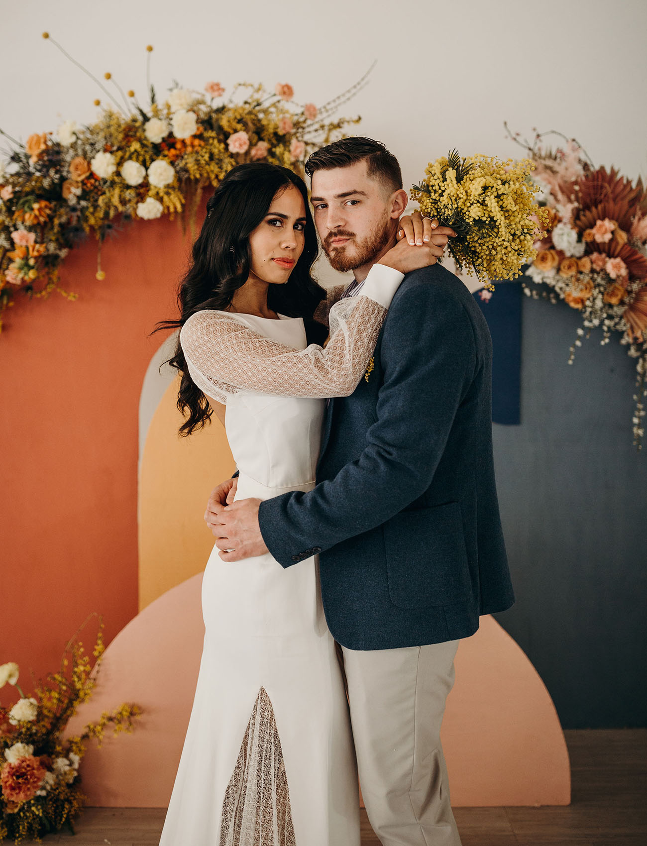 Muted Brights Wedding Inspiration