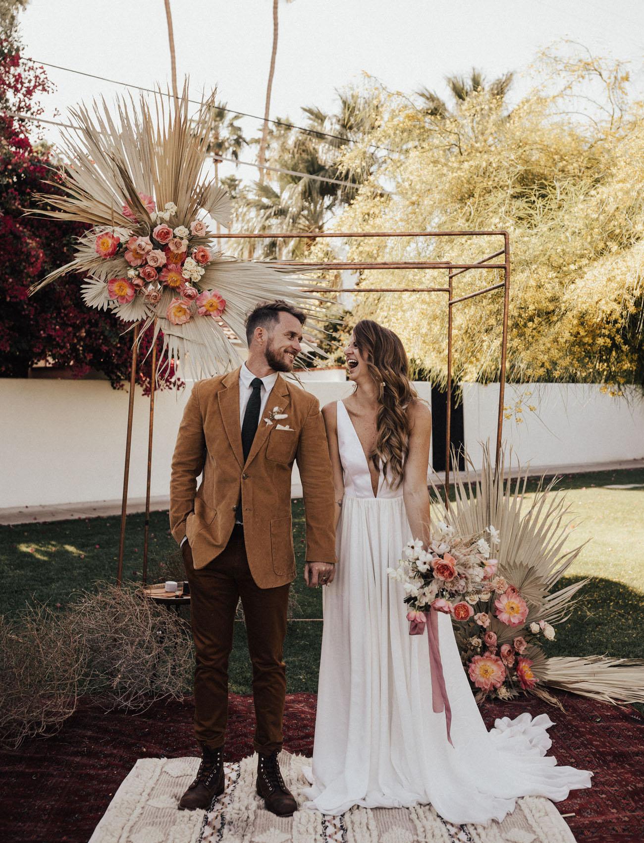 Villa Royale Palm Springs Wedding