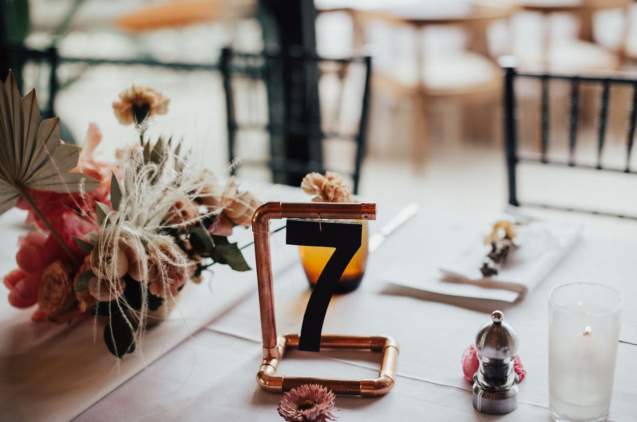 copper pipe table number
