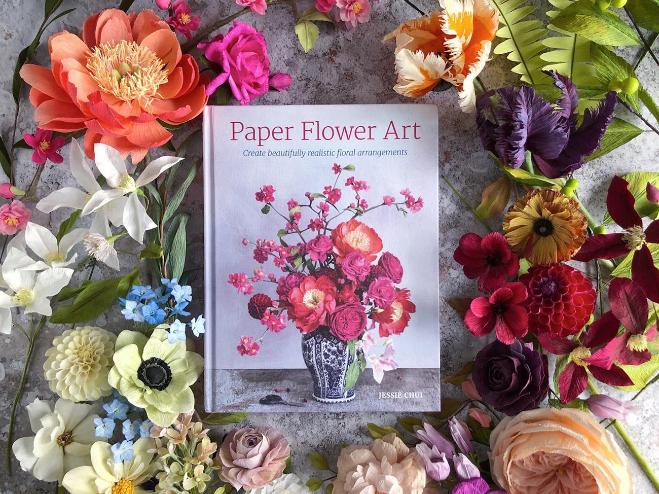 Paper Flower Art Book