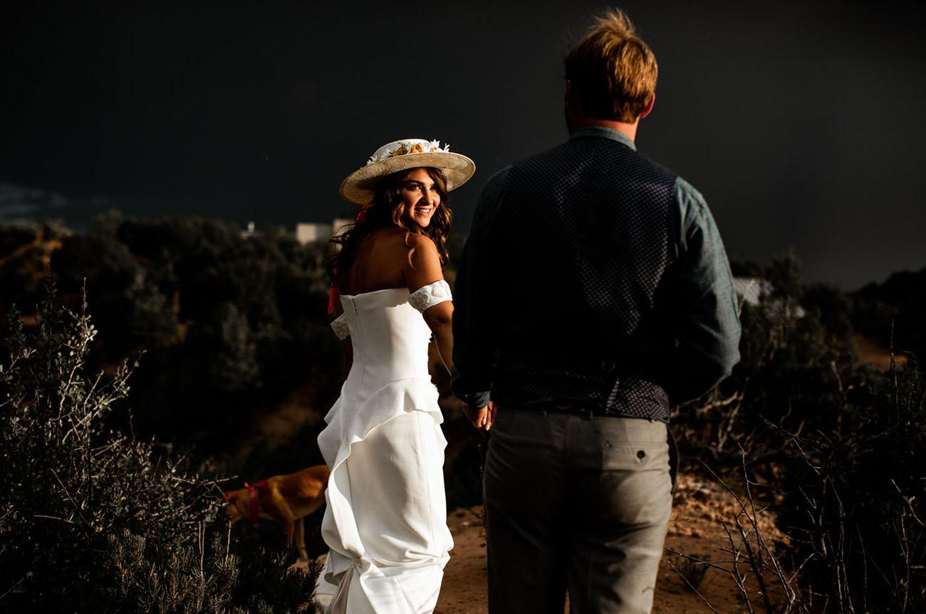 Rustic Southwest Wedding