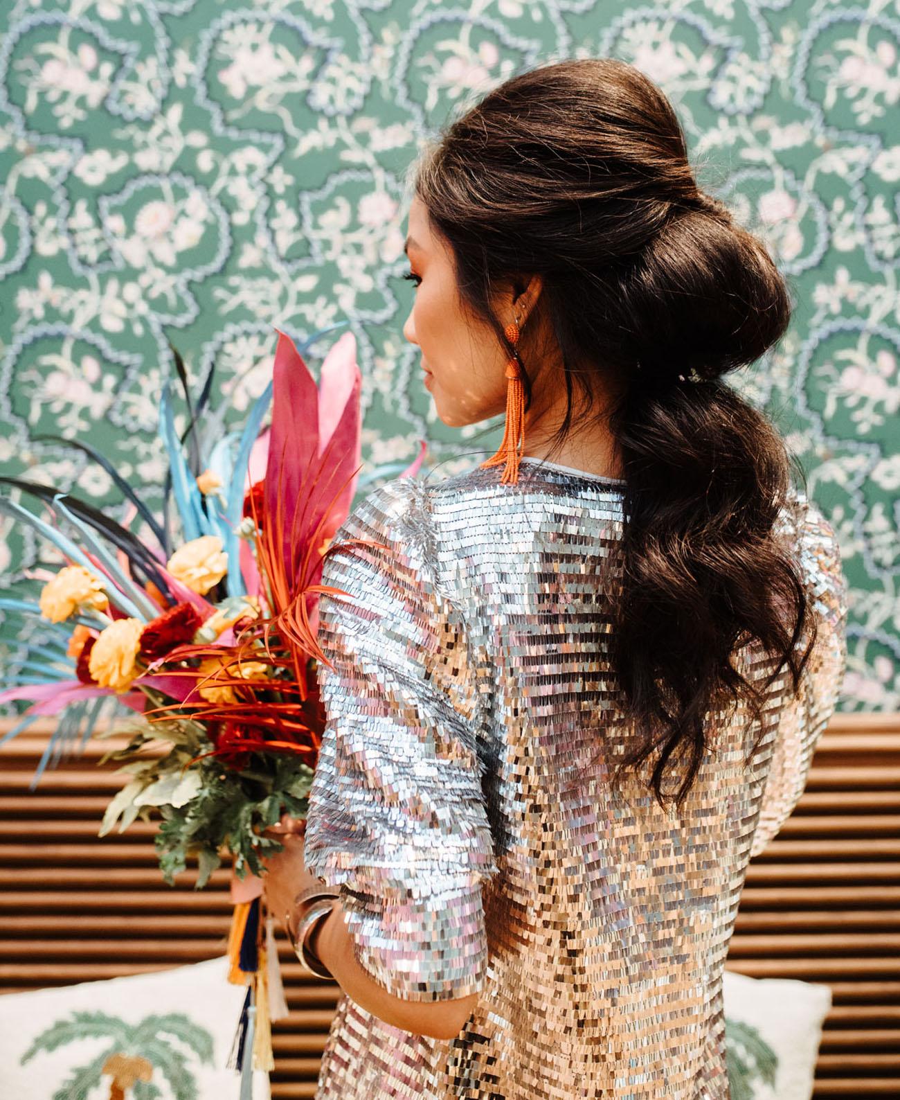 bridal pony hair