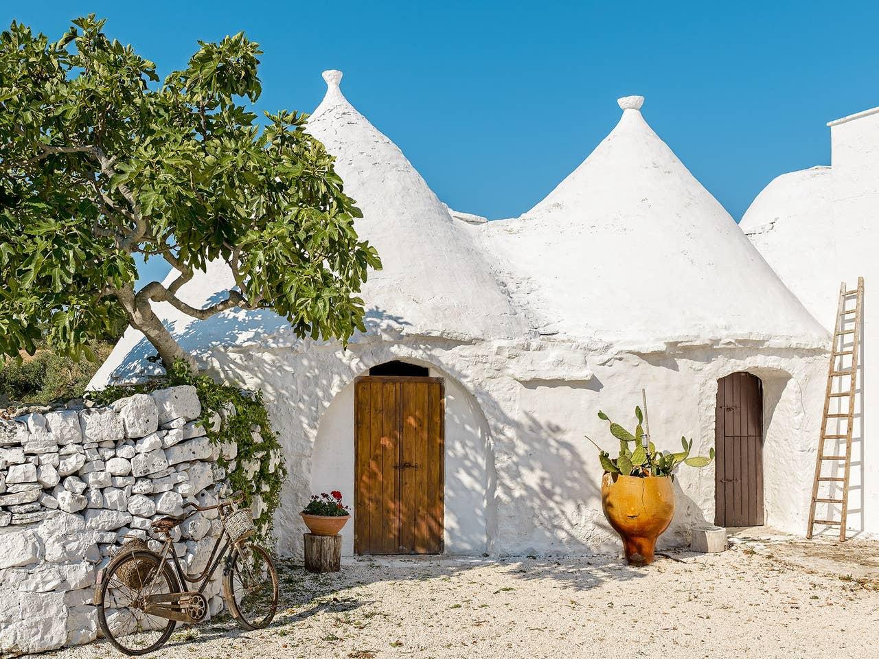 trullo on airbnb in ostunti