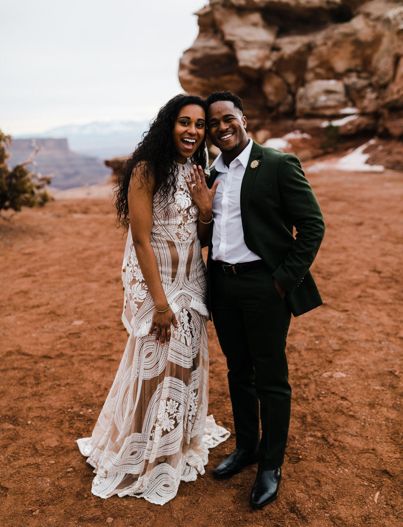 Desert Elopement Inspiration Turned Surprise Proposal
