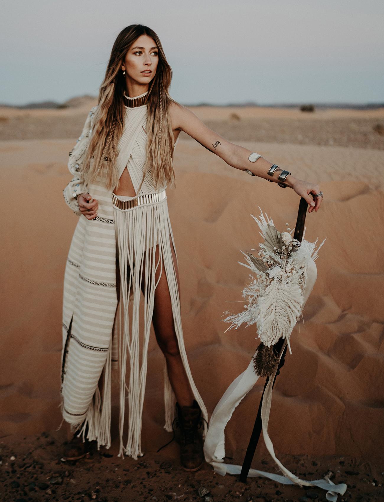 Coachella Fringe Bride