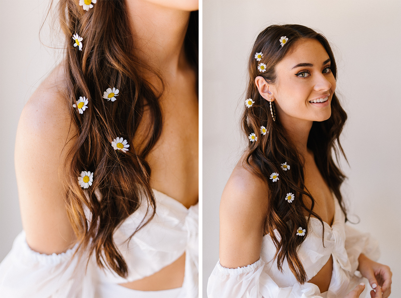 3 Floral Hair Diys With Fresh Flowers From Trader Joe S