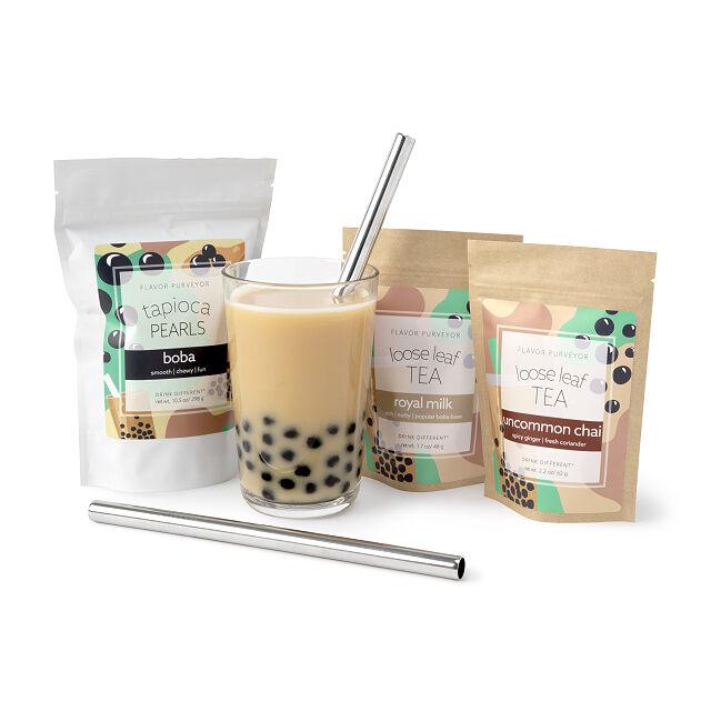 at home boba tea kit