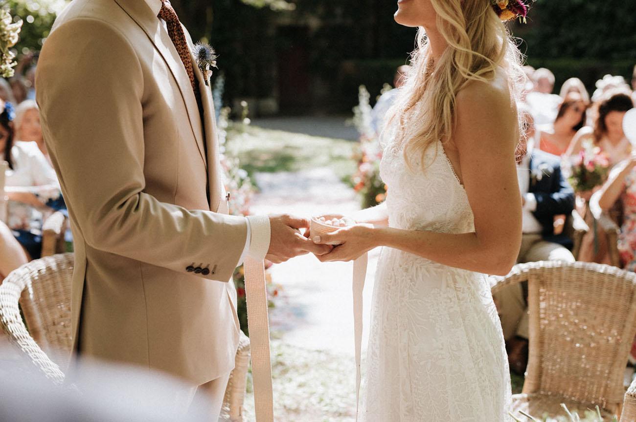 Spring Tuscan Wedding