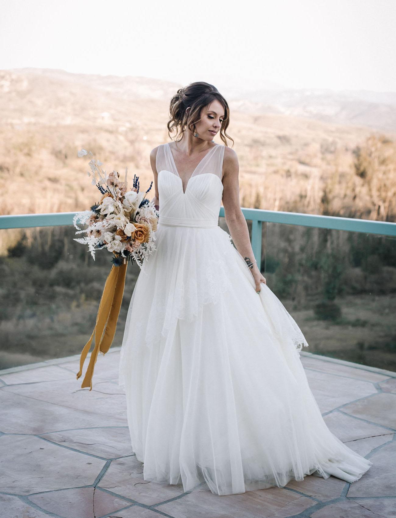 Amsale 'Luisa' Dress