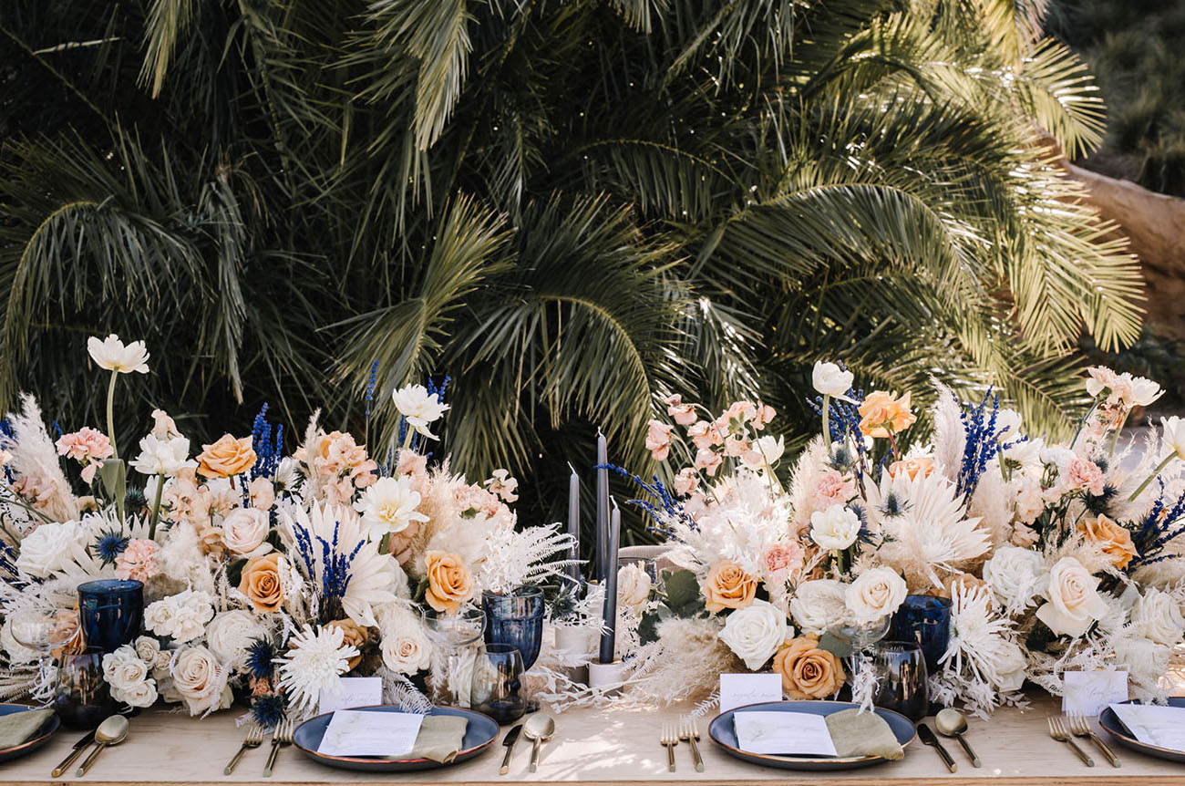 Modern Spring Pantone Wedding Inspiration