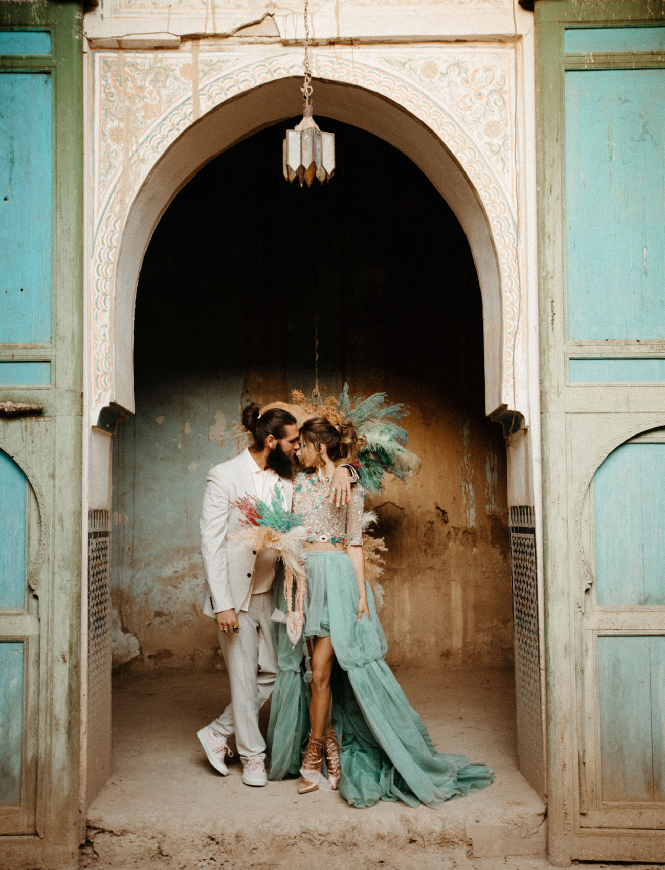 Abandoned Kasbah Elopement in Morocco