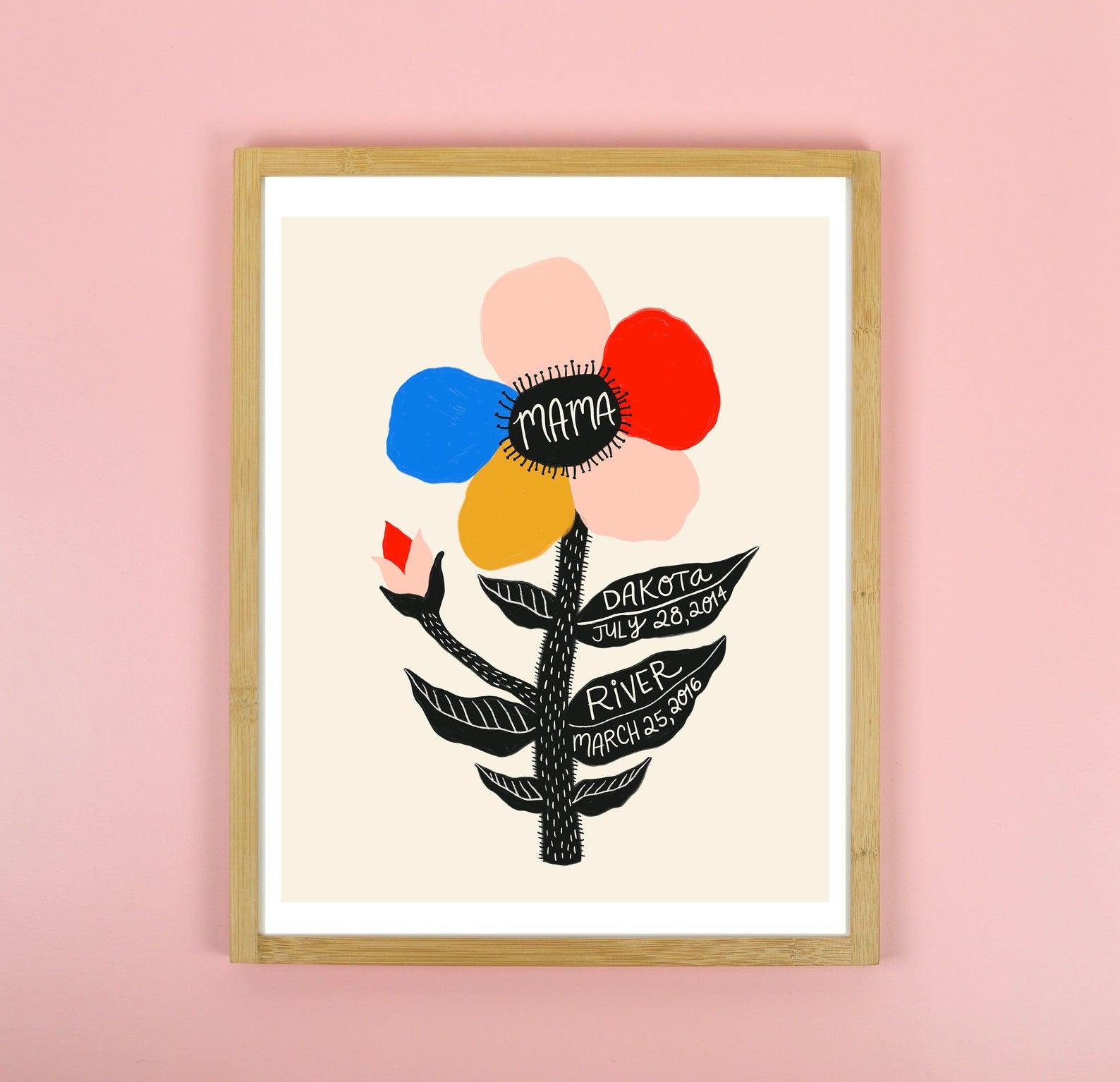 new-mama-art-print