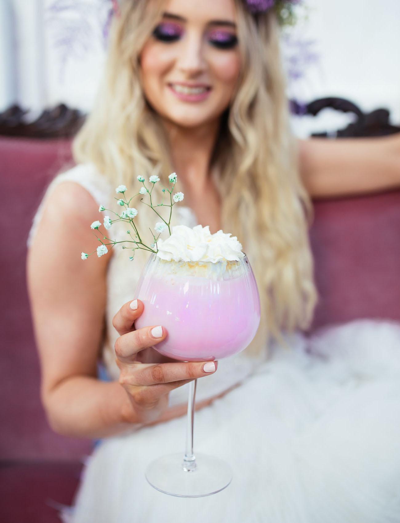 purple cocktail