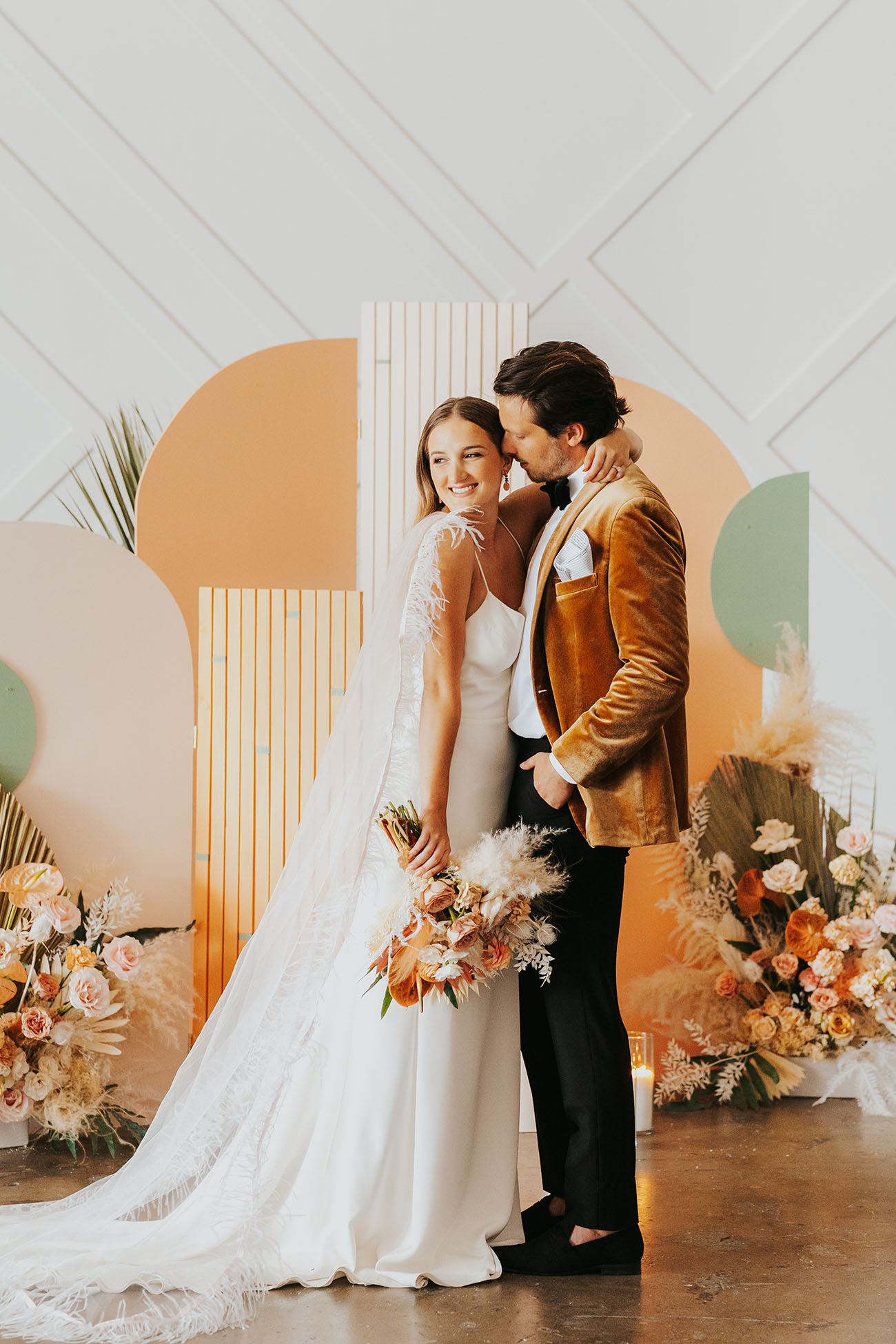 Peachy Wedding Inspiration
