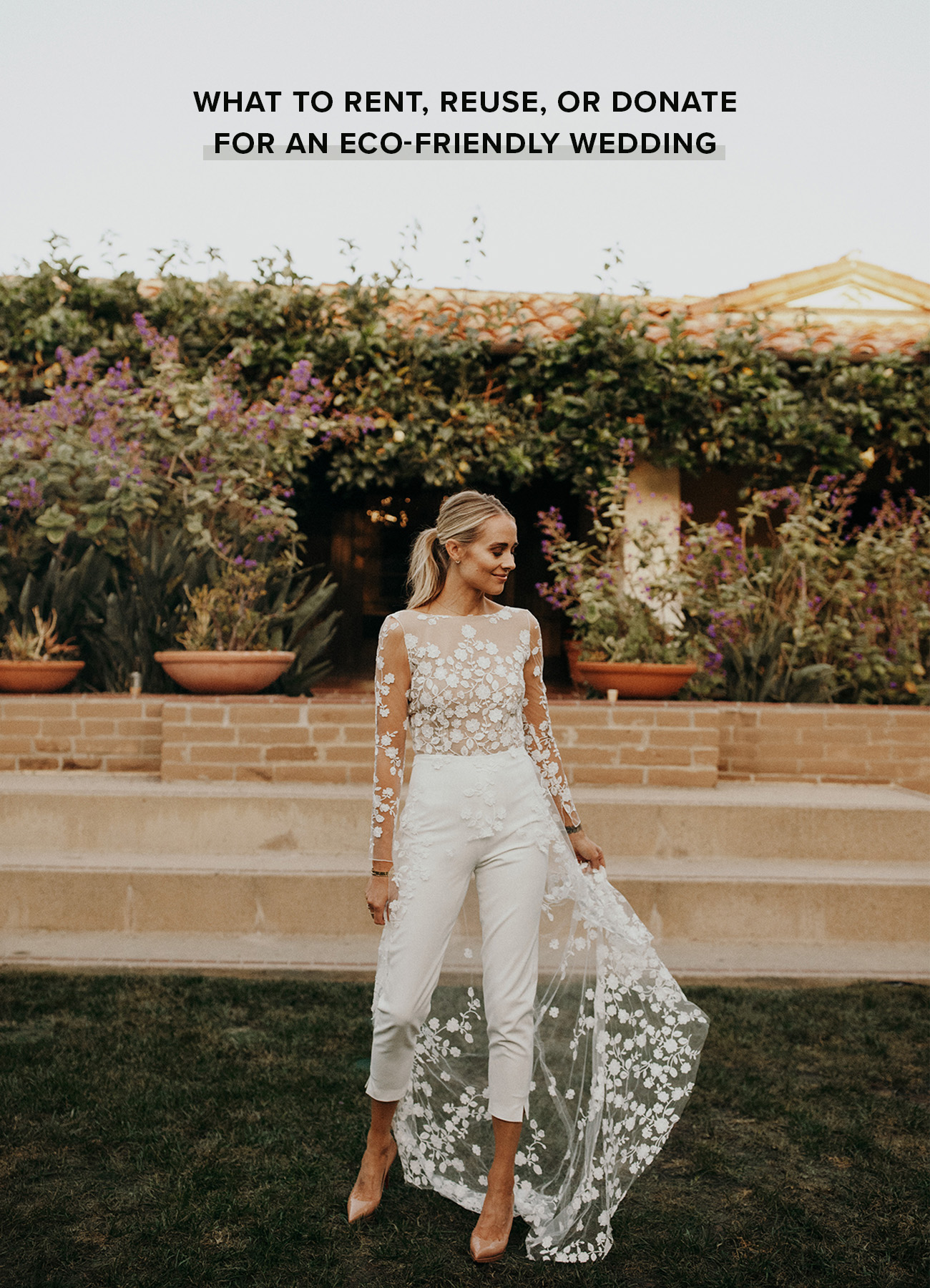 What to Rent, Reuse, or Donate for an Eco-Friendly Wedding