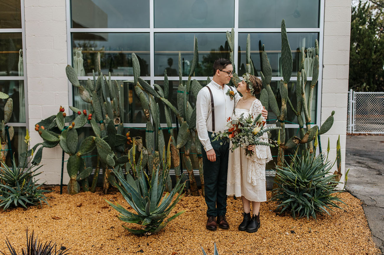 Book Store Wedding in Ojai