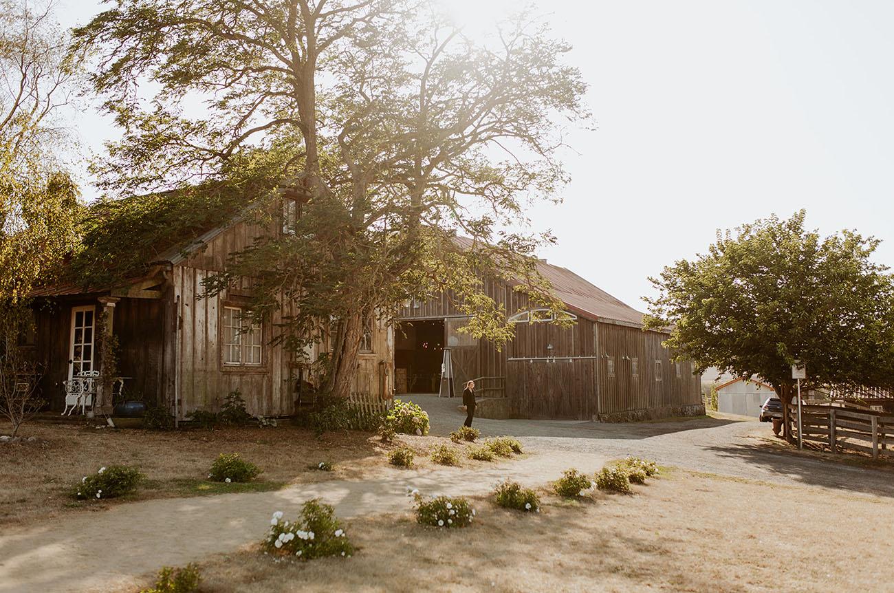 Modern California Farmhouse Wedding