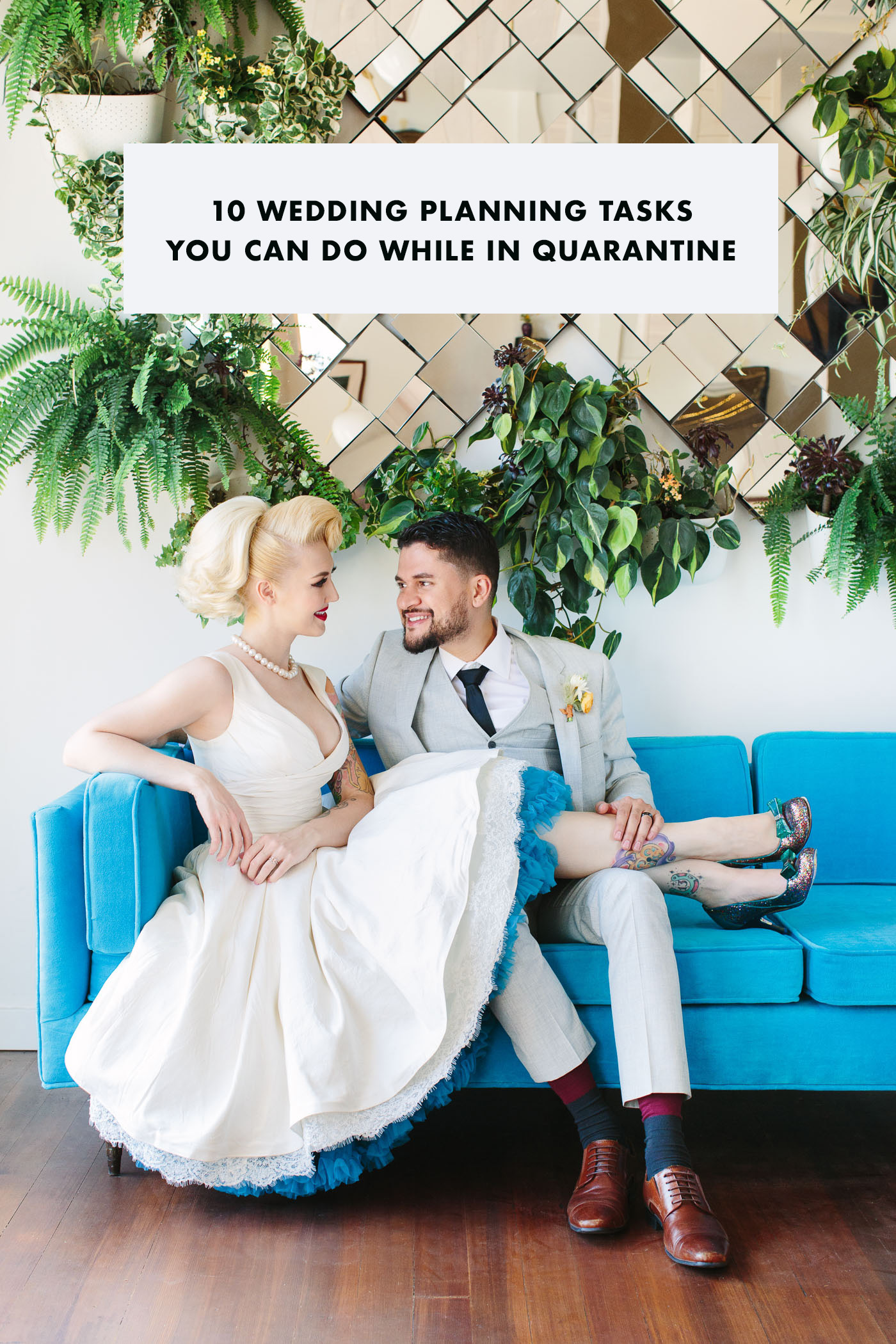 10 Wedding Planning Tasks You Can Do While in Quarantine